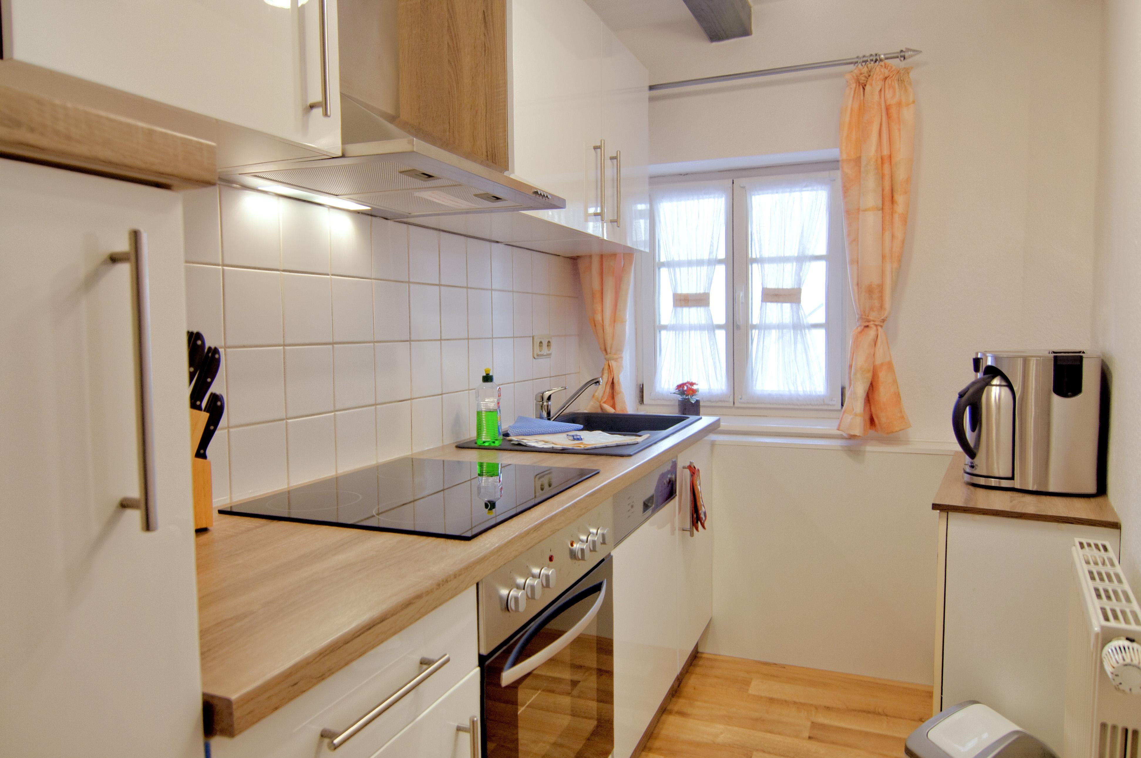 Küche mit Frühstückscenter