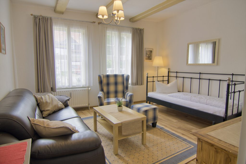 Wohnzimmer mit Tagesbett
