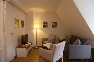 Wohnung No 2 mit zwei Schlafzimmern (Achtung steile Treppe)